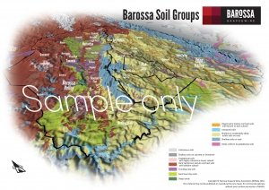 Barossa Grounds Soil Groups Map