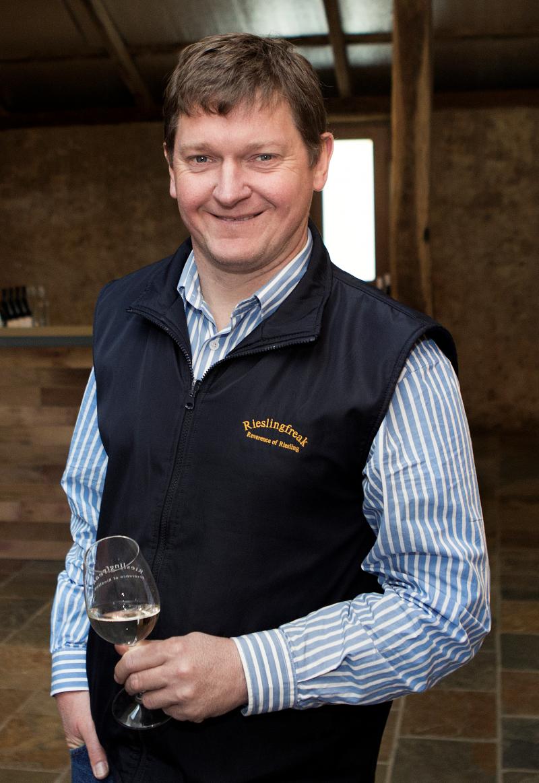 Rieslingfreak owner and winemaker, John Hughes