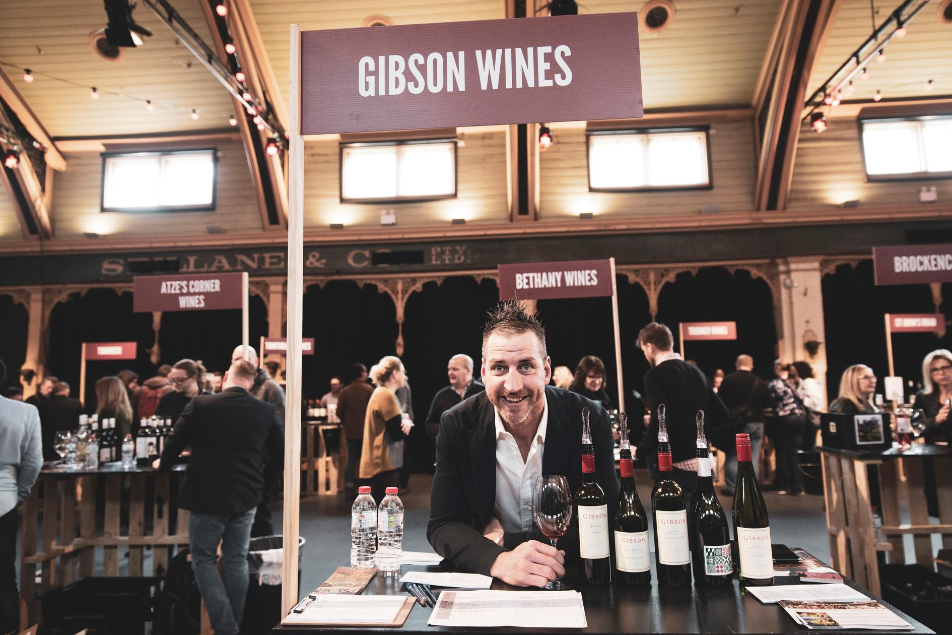 Barossa Be Consumed wine and food event Melbourne 2018 Gibson Wines