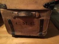 An old leather saddlebag; inspiration for the Liebfraumilk saddlebag