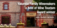 Yalumba Family Winemakers, winner Best of Wine Tourism Awards 2020