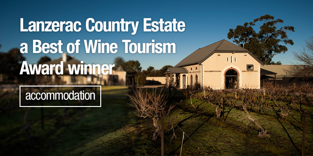 Lanzerac Country Estate, Winner Best of Wine Tourism Awards 2020