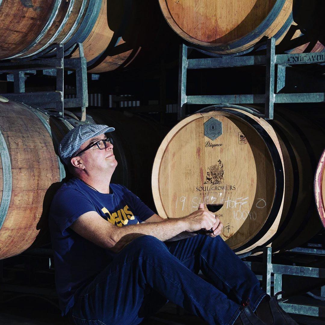 Portrait of Stuart Bourne Barossa Winemaker of the Year