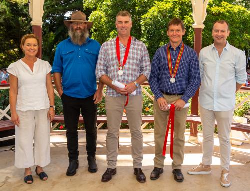 Geoff Knights awarded postumous BGWA Services to Industry Award